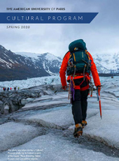 Cultural Program Brochure Spring 2020
