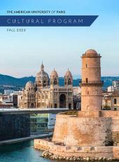 Cultural Program Brochure Fall 2020
