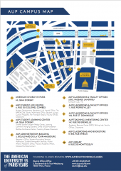 Campus Map of the Founding Classes Reunion