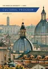 Cultural Program Brochure Spring 2017
