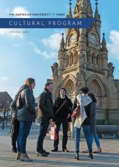 Cultural Program Brochure Spring 2019 Cover