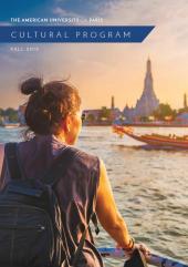 Cultural Program Brochure Fall 2019 Cover